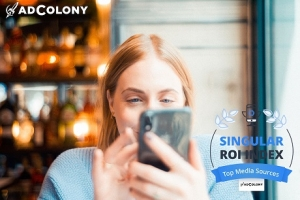 AdColony Ranked As Top Media Source in Singular's ROI Index 2020