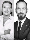 Charlie Weaving and Joao Serio, Managing Partner and Director of Operations, LIVIT Hospitality Management, Dubai